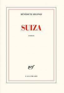 Couverture gallimard du roman Suiza